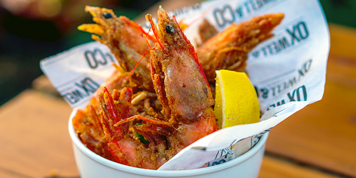 Crispy Soft Shell Prawns from Oxwell & Co on Ann Siang Road in Chinatown, Singapore
