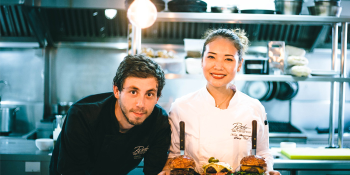 Chef Nik & Chef Mook with the Creations of Rustic-Eatery & Bar in Patong, Kathu, Phuket, Thailand
