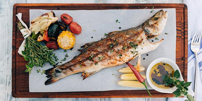 Pan Fried Fish, Santorini Greek Restaurants (Wan Chai), Wan Chai, Hong Kong