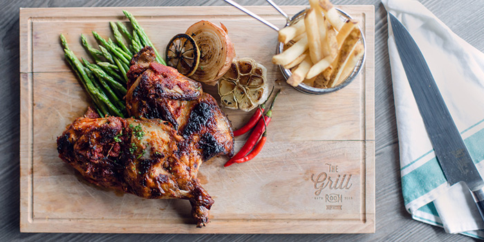 Peri Peri Chicken, The Grill Room, Tsim Sha Tsui, Hong Kong