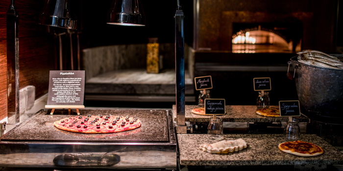 Pizza Station from Latest Recipe at Le Méridien Bangkok 40/5 Surawong Road, Bangrak Bangkok