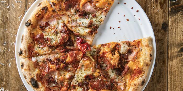 Porkie Pepperoni Pizza, Jamie's Italian, Tsim Sha Tsui, Hong Kong