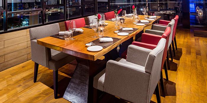 Private Dining room of il Cielo at Hilton Singapore in Orchard, Singapore