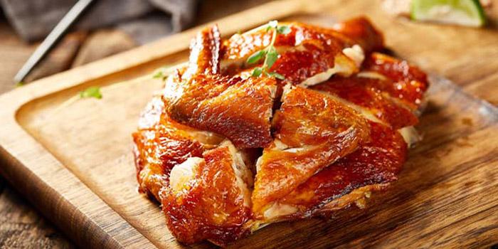 Roasted Chicken, Tian Tian Hainanese Chicken Rice (Tsim Sha Tsui), Tsim Sha Tsui, Hong Kong