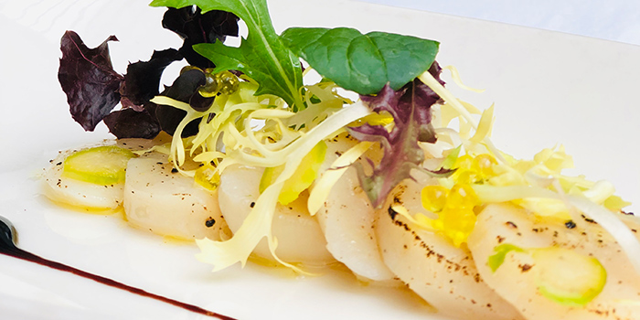 Roasted Scallop from ALBA 1836 Italian Restaurant in Duxton, Singapore