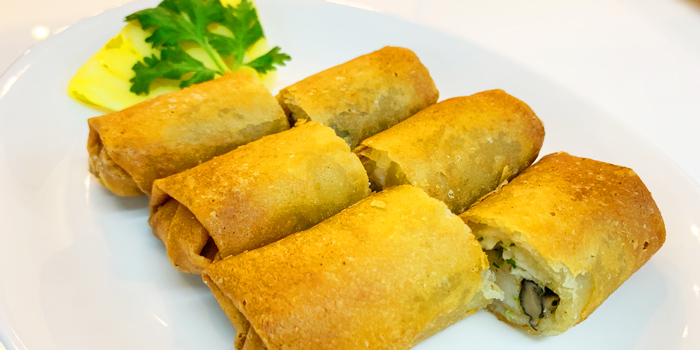 Ruenros Spring Roll from Ruenros The Market at The Market Bangkok Ratchadamri Rd Lumphini, Khet Pathum Wan Bangkok