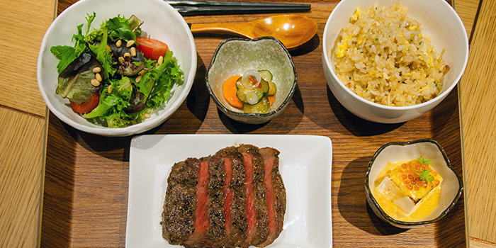 Beef Wagyu Striploin from 63Celsius (Paragon) in Orchard Road, Singapore
