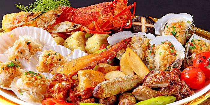 Barbeque Platter from Alijiang 阿里疆 at VivoCity in Harbourfront, Singapore