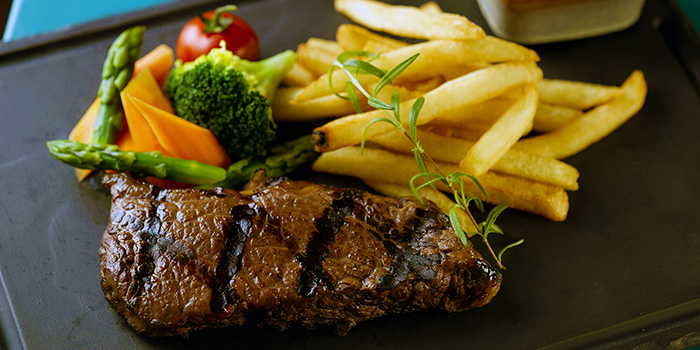 Australian Sirloin Steak from Baba Chews Bar and Eatery in Hotel Indigo Singapore Katong in East Coast, Singapore