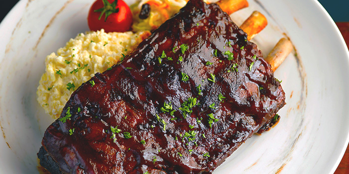 BBQ US Pork Ribs from Baba Chews Bar and Eatery in Hotel Indigo Singapore Katong in East Coast, Singapore