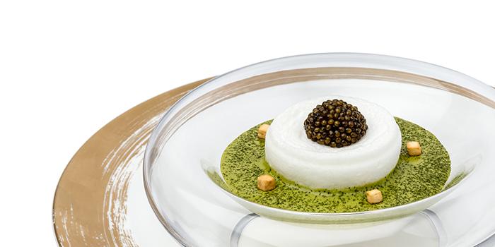 Frankfurter Grune Sosse from CURATE at Resorts World Sentosa in Sentosa, Singapore