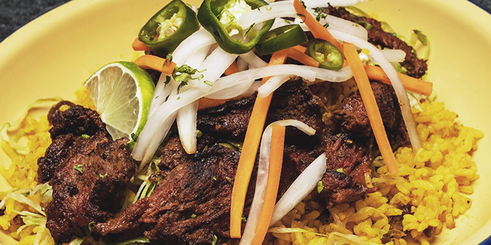 Carne Asada Beef Bowl from Chimi