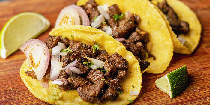 Paleta Beef Tacos from Chimi