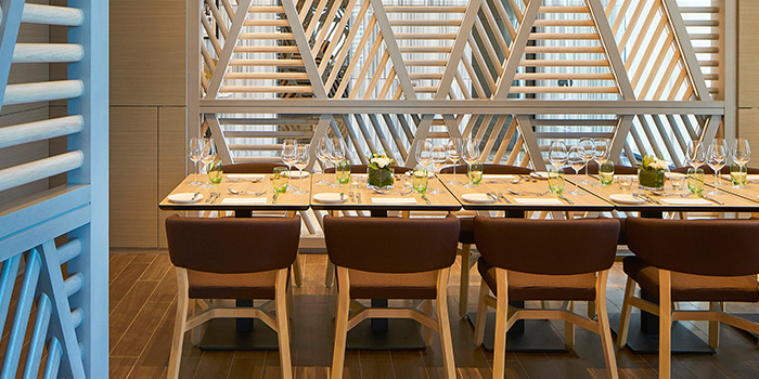Private Dining Area of Sky22 at Courtyard by Marriott Singapore Novena in Novena, Singapore