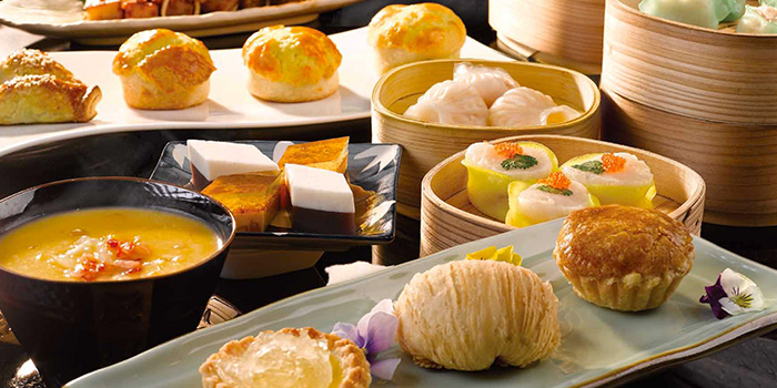 Assortment of Dim Sum from Feng Shui Inn at Resorts World Sentosa in Sentosa, Singapore