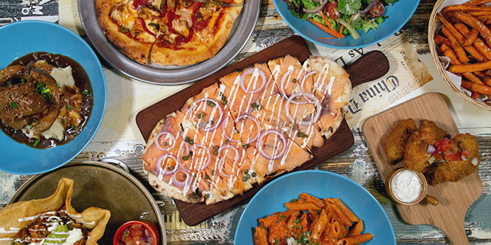 Food Spread from Fuego Bar & Kitchen at Alexandra Technopark Block B in West Coast, Singapore