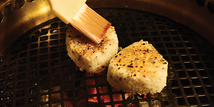 Furikake Yakionigiri from Gyu-Kaku (CHIJMES) in City Hall, Singapore