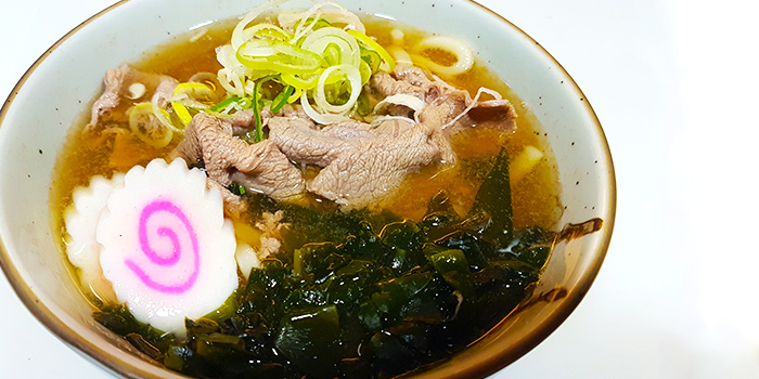 Beef Udon from Hakata Japanese Restaurant at NEWest in West Coast, Singapore