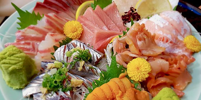 Omakase Sashimi from Hakata Japanese Restaurant at NEWest in West Coast, Singapore