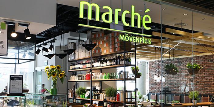 Exterior of Marché Mövenpick (JEM) in Jurong, Singapore