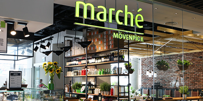Exterior of Marché Mövenpick (JEM) in Jurong, Singapore