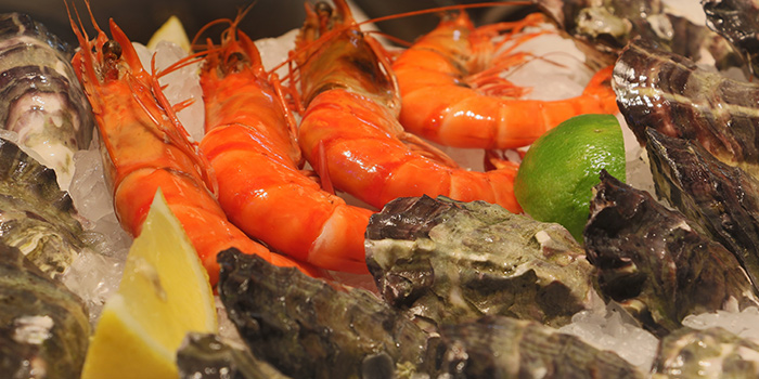 Seafood from Marché Mövenpick (313 Somerset) in Orchard, Singapore