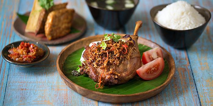 Bebek Goreng from Native Kitchen at à Village Hotel at Sentosa in Sentosa, Singapore