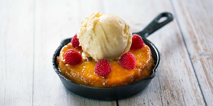 Pineapple Upside Down Cake from Native Kitchen at à Village Hotel at Sentosa in Sentosa, Singapore