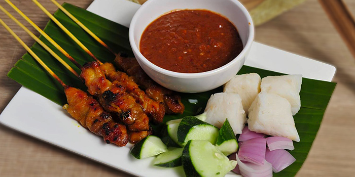 Satay from Old School Delights in Esplanade, Singapore