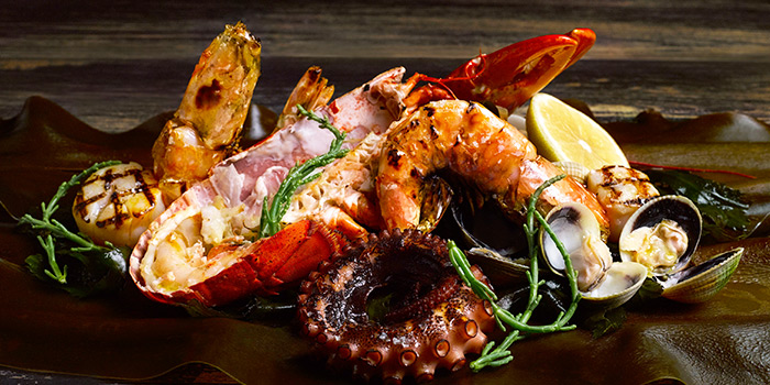 Seafood Platter from Osia Steak & Seafood Grill at Resorts World Sentosa in Sentosa, Singapore
