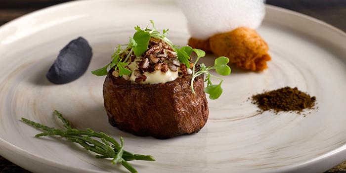Wagyu Beef Tenderloin from Osia Steak & Seafood Grill at Resorts World Sentosa in Sentosa, Singapore
