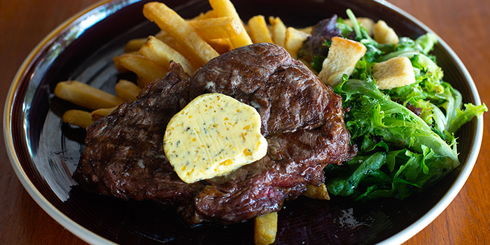 Ribeye Steak from Pince & Pints Restaurant and Bar in Duxton, Singapore