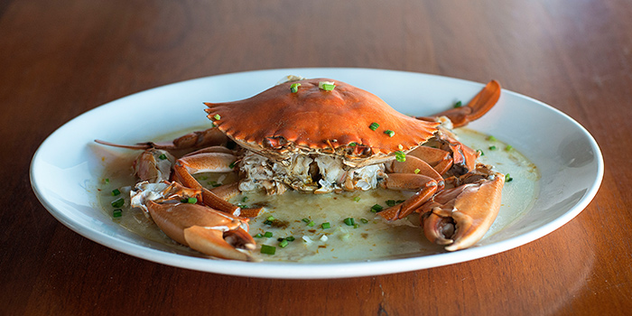 Steamed Crab from Pince & Pints Restaurant and Bar in Duxton, Singapore