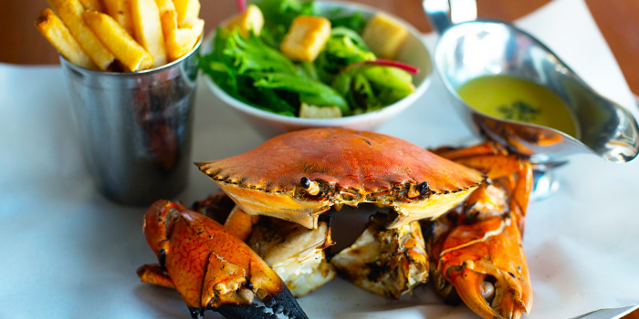 Grilled Crab from Pince & Pints Restaurant and Bar in Duxton, Singapore