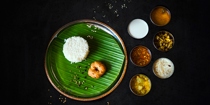Set Meal from Podi & Poriyal in Little India, Singapore