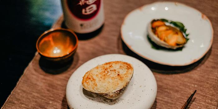 Hamaguri-Gratin from RIZU Modern Japanese Cuisine in Duxton, Singapore