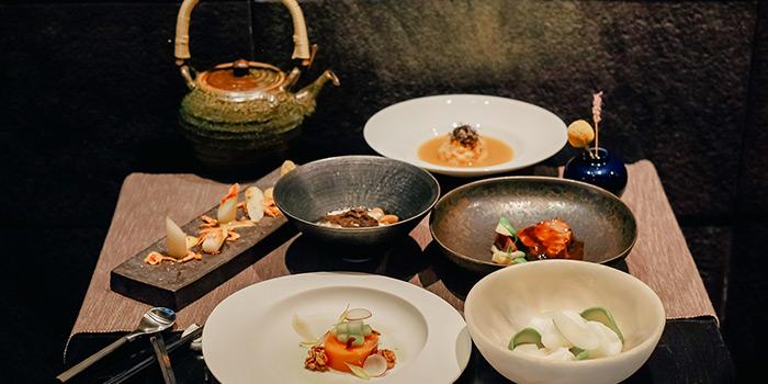 6 Course Lunch Menu from RIZU Modern Japanese Cuisine in Duxton, Singapore