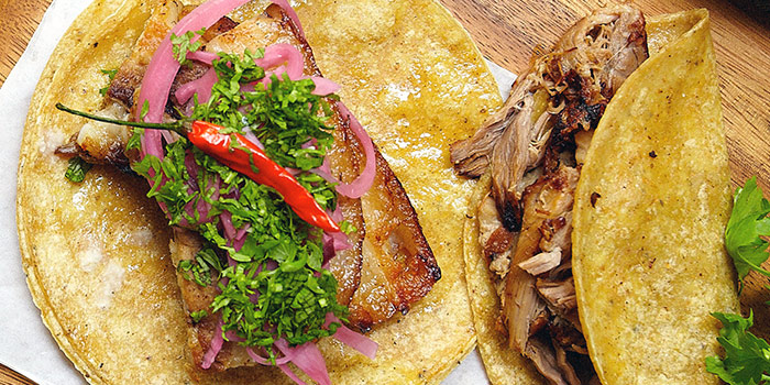 Pork Belly Carnitas from Señor Taco (CHIJMES) in City Hall, Singapore
