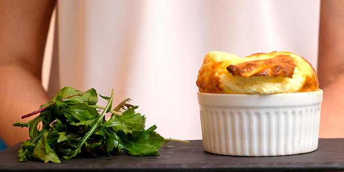 Comte Cheese Soufflé from Soufflé in Duxton, Singapore