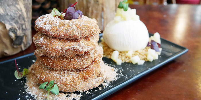 Fried Apple Rings from Stuttgart Blackforest Boutique S-Cafe in Newton, Singapore