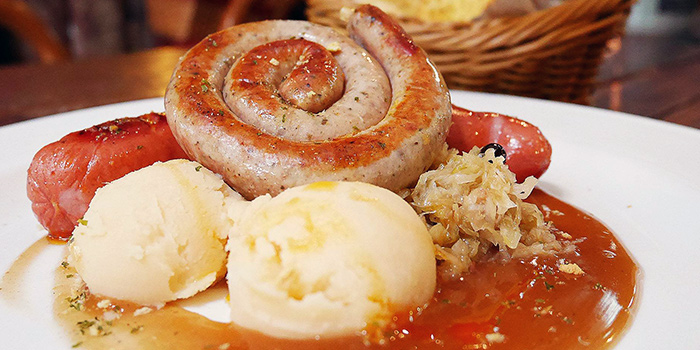 Specialty Sausages from Stuttgart Blackforest Boutique S-Cafe at Rendezvous Hotel Gallery in Dhoby Ghaut, Singapore