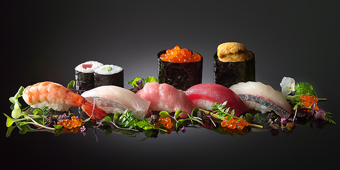 Assorted Sushi from Syun at Resorts World Sentosa in Sentosa, Singapore