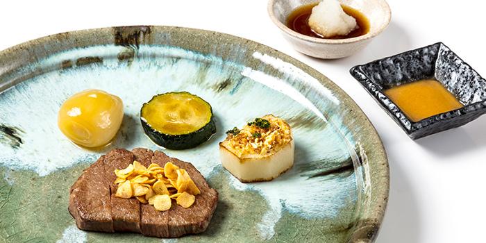 Japanese Wagyu Beef from TEPPAN by Chef Yonemura at Resorts World Sentosa in Sentosa, Singapore