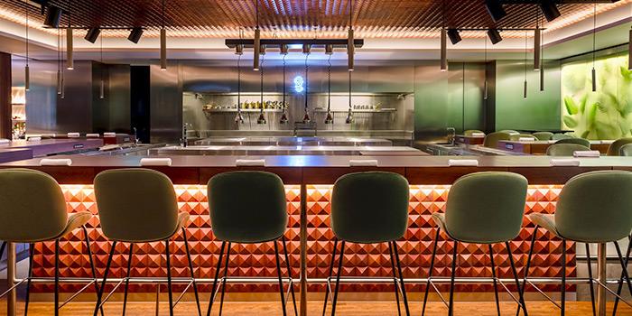 Interior of table65 at Resorts World Sentosa in Sentosa, Singapore