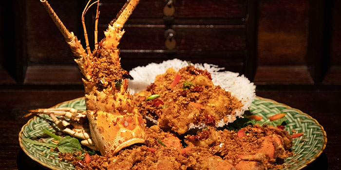Lobster from The Dragon Chamber in Boat Quay, Singapore