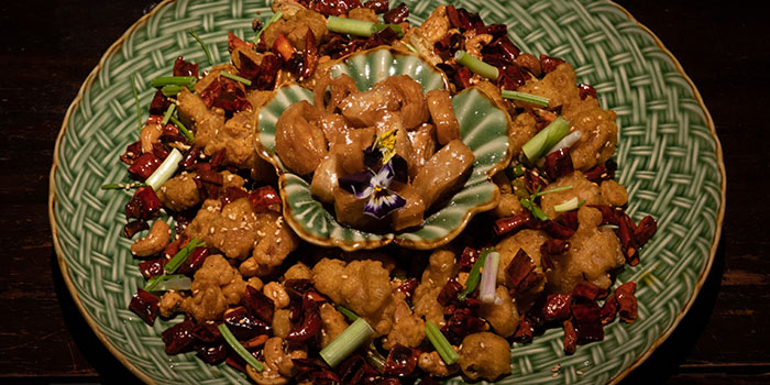 Mala Chicken from The Dragon Chamber in Boat Quay, Singapore