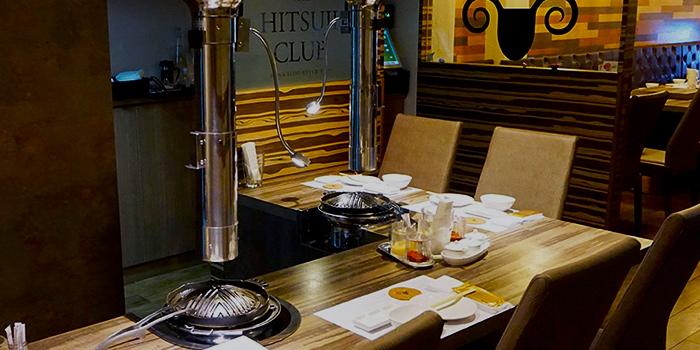 Interior of The Hitsuji Club in Boat Quay, Singapore