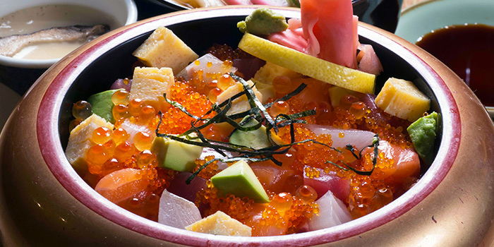 Chirashi from Tonkichi (Isetan Scotts) in Orchard, Singapore