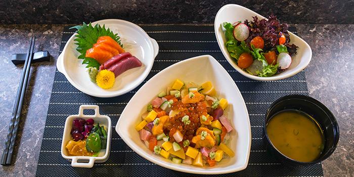 Chirashi Lunch Set from TORIO Japanese Restaurant in Telok Ayer, Singapore