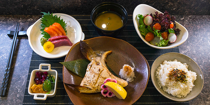 Kama Lunch Set from TORIO Japanese Restaurant at Link Hotel in Tiong Bahru, Singapore